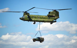 CH-47 Chinook royalty free stock photos