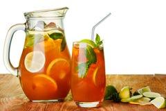 Chá congelado Imagens de Stock Royalty Free