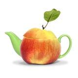 Chá da maçã do conceito Imagens de Stock