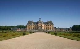 ch de France Le Teau vaux vicomte Obrazy Royalty Free