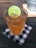 Chá do pêssego Imagens de Stock