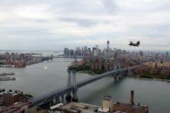 CH-46E Manhattan Fotografie Stock