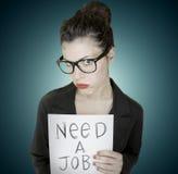 chômeurs Photographie stock libre de droits