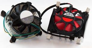chłodno procesor Fotografia Stock
