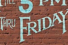 chłodno typografia Fotografia Royalty Free