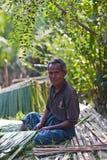 Chłop od Mrauk U, Myanmar Obrazy Royalty Free