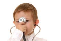 chłopcy 7 doktorze Fotografia Stock