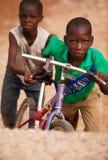 chłopcy afryki 2 Zdjęcie Royalty Free