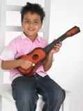 chłopcy gitara obrazy stock