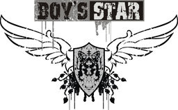 chłopcy gwiazda Obraz Stock