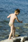 chłopcy morza Zdjęcia Royalty Free