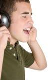 chłopcy muzyki Zdjęcie Royalty Free