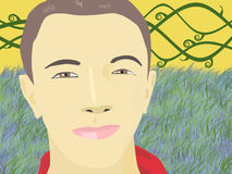 chłopcy portret Obrazy Royalty Free