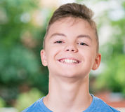 chłopcy portret nastolatków Obrazy Royalty Free