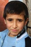 chłopcy portrety smutne Fotografia Royalty Free