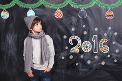 Chłopiec 2016 Zdjęcia Stock