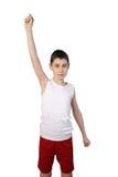 Chłopiec atleta Obrazy Stock