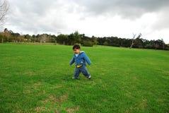 chłopiec beztroska Zdjęcia Stock