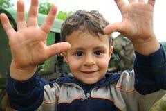 chłopiec biedy potomstwa Zdjęcie Stock