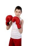 Chłopiec bokser Obrazy Stock