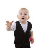 chłopiec dziecko Obrazy Royalty Free