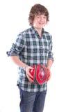 chłopiec futbolu potomstwa Zdjęcie Royalty Free