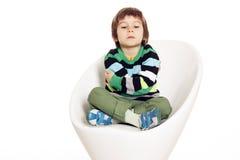 Chłopiec gniewna Zdjęcie Stock