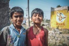 chłopiec hindus dwa Zdjęcie Royalty Free