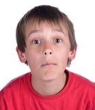 chłopiec indagacja Zdjęcia Royalty Free