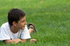 chłopiec ja target206_0_ Obrazy Stock
