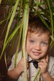 chłopiec ja target4700_0_ Obrazy Royalty Free