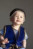 chłopiec kazach Zdjęcia Royalty Free