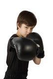 Chłopiec kickboxer Obraz Stock