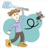 chłopiec komarnica ilustracji
