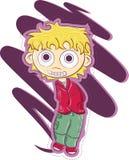 chłopiec kreskówka Obraz Royalty Free