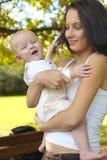 chłopiec matka Fotografia Royalty Free