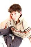 chłopiec nastoletnia Obrazy Stock