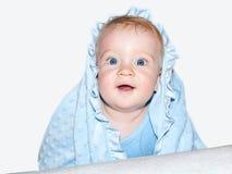 Chłopiec niebieskie oczy Zdjęcia Stock