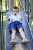 chłopiec obruszenie Zdjęcia Stock