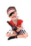 chłopiec pirata potomstwa Fotografia Royalty Free