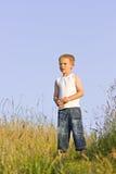 chłopiec portret Obrazy Royalty Free