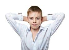 chłopiec portret Zdjęcia Royalty Free