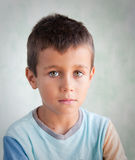 chłopiec portret Obrazy Stock