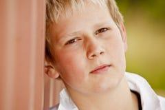 chłopiec portreta potomstwa Zdjęcie Royalty Free