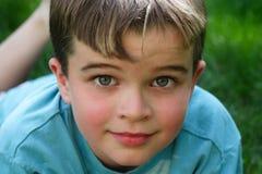 chłopiec przystojna Obraz Royalty Free
