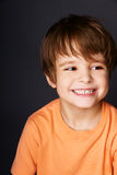 chłopiec radosna Fotografia Royalty Free