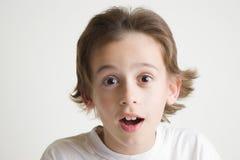 chłopiec radosna Obrazy Stock