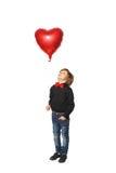 (1) chłopiec serca fotografia Obraz Royalty Free