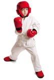 chłopiec sportowiec Zdjęcia Royalty Free