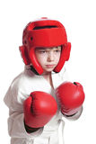 chłopiec sportowiec Zdjęcie Stock